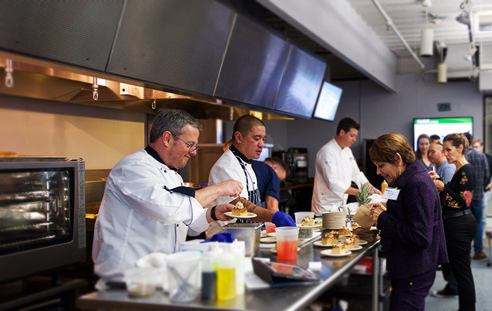 Commercial foodservice seminar training