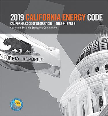 2019 California Energy Code