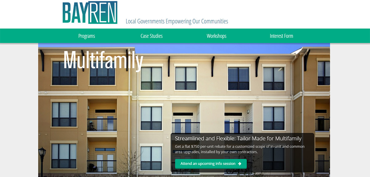 Bay Area Regional Energy Network's Multifamily Building Enhancements program