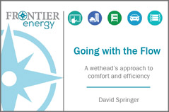 Dry Climate Forum 2019 presentation - A wethead's approach to comfort and efficiency, David Springer