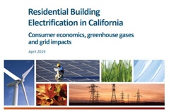 Residential building electrification in California study - April 2019