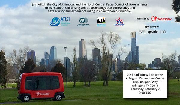 Autonomous vehicle roadshow