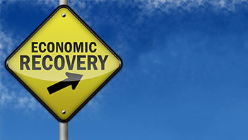 Economic Recovery sign - Lessons from ARRA Funding blog